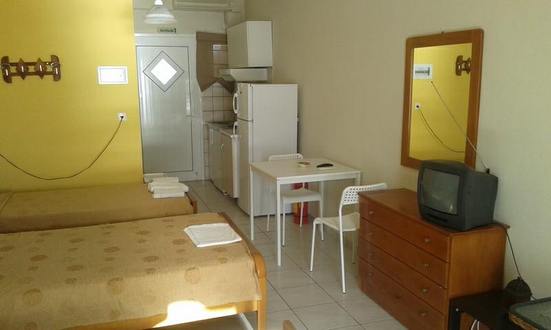 Grcka apartmani letovanje, Vrahos, Nitsa, kuhinja u sobi