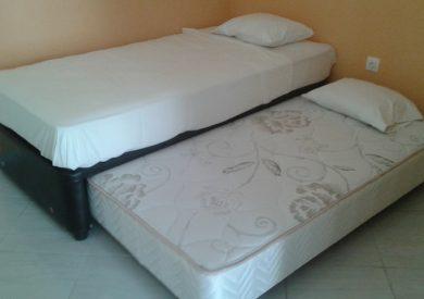 Grcka apartmani letovanje, Vrahos, Kyma, krevet sa fiokom na razvlačenje
