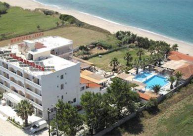 Grcka hoteli letovanje, Kanali, Hotel Poseidon Beach, panorama