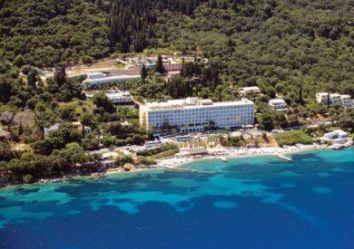 Grcka hoteli letovanje, Krf, Benitses, Hotel Louis Ionian Sun, panorama