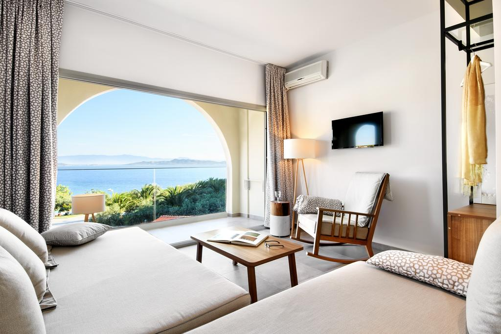 Grcka hoteli letovanje, Halkidiki, Uranopols,Akrathos, soba