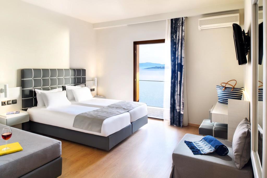 Grcka hoteli letovanje, Halkidiki, Uranopols,Akrathos, soba izgled