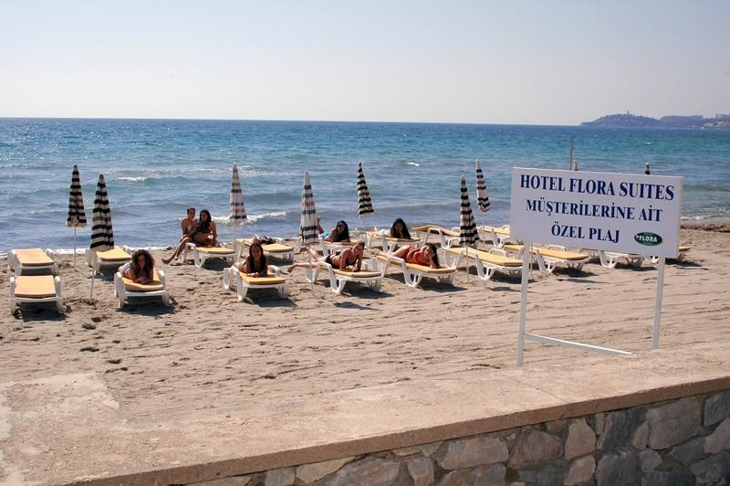 Letovanje Turska autobusom, Kusadasi, Hotel Flora family suites,deo plaže