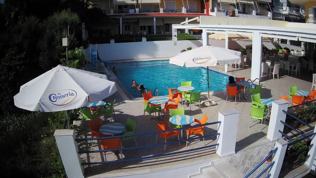 Grcka hoteli letovanje, Preveza, Hotel Dimitra, bazen