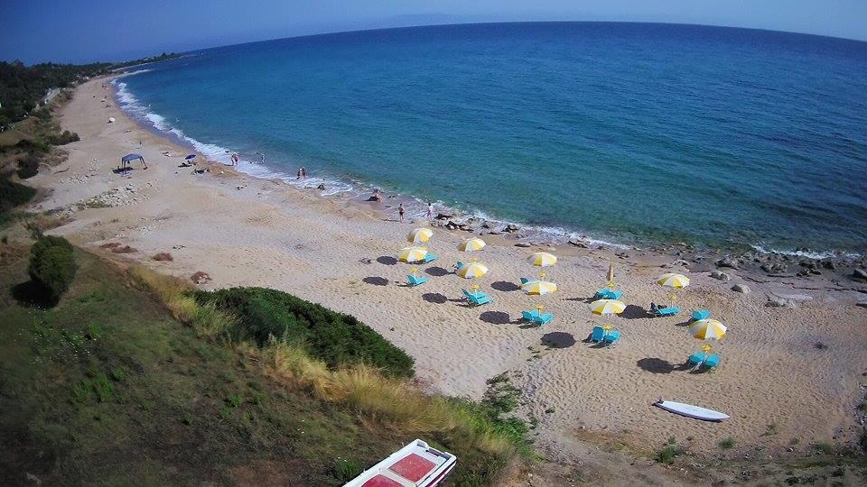 Grcka hoteli letovanje, Preveza, Hotel Dimitra, plaža