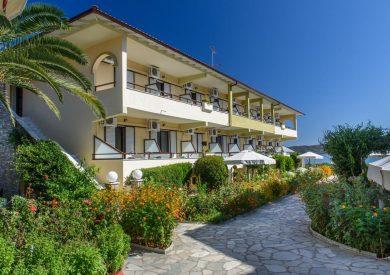 Grcka hoteli letovanje, Halkidiki, Amuliani,hotel Sunrise,eksterijer