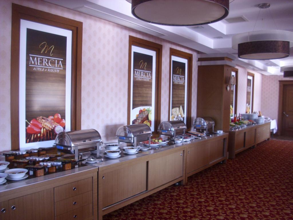 Letovanje Turska avionom, Kumburgaz, hotel Mercia, restoran
