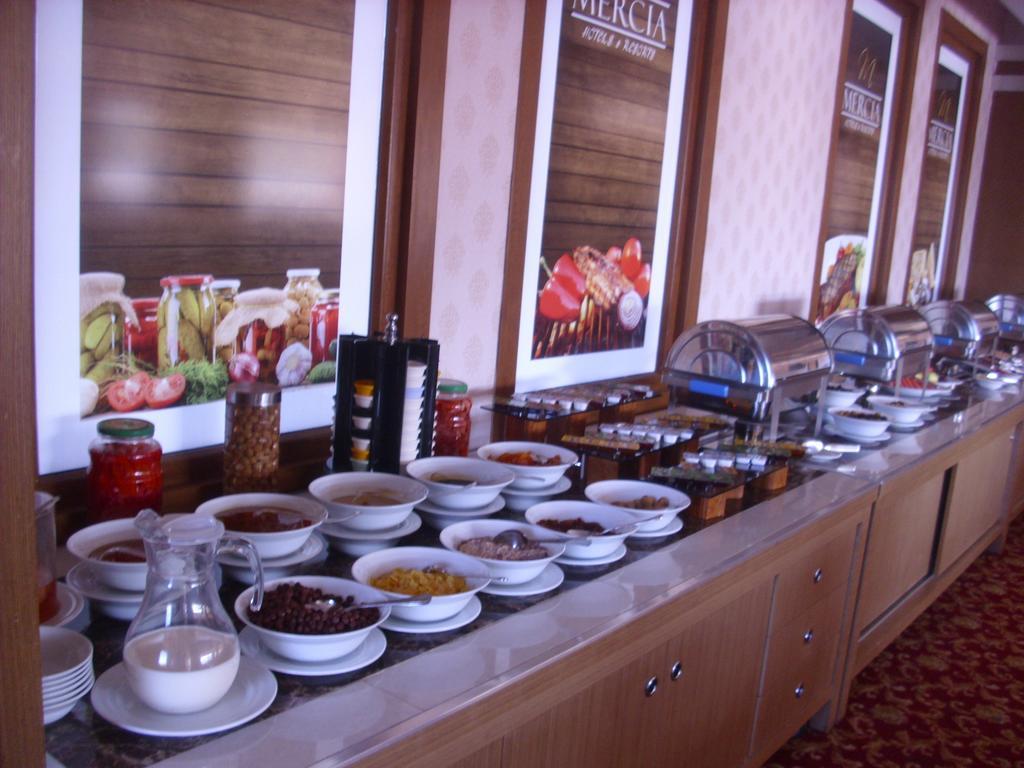 Letovanje Turska avionom, Kumburgaz, hotel Mercia, sala za ručavanje