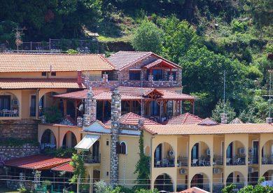 Grcka hoteli letovanje, Tasos, Castle Pontos, eksterijer
