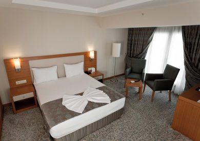 Letovanje Turska avionom, Kumburgaz, hotel Mercia, soba sa francuskim ležajem