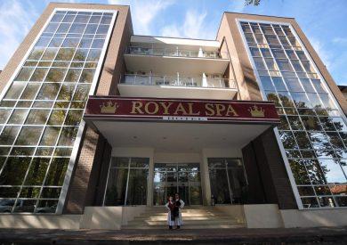 Banje, Banja Koviljača, smeštaj, Hotel Royal Spa, ulaz