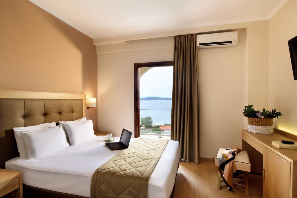 Grcka hoteli letovanje, Halkidiki, Uranopols,Akrathos, hotelska soba