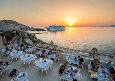 Letovanje Turska autobusom, Kusadasi, Hotel Derci,restoran