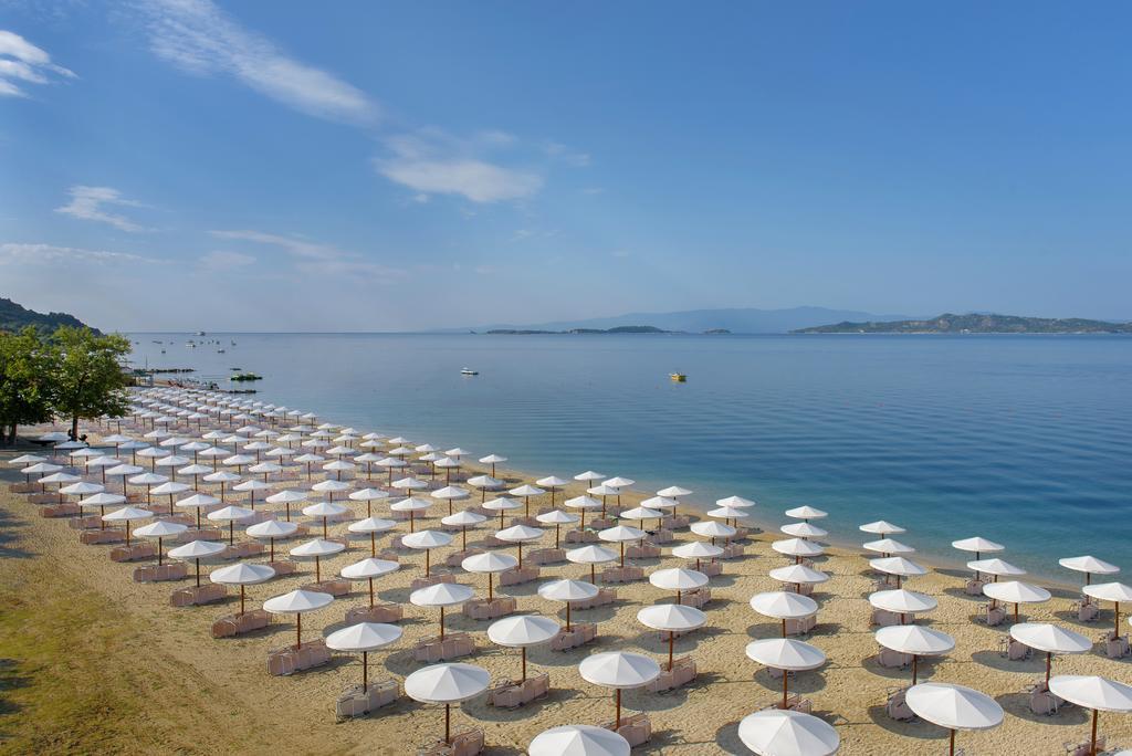 Grcka hoteli letovanje, Halkidiki, Uranopols,Akrathos, plaža