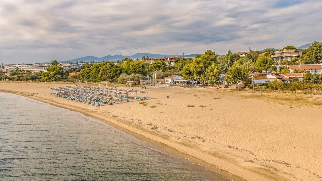 Grcka hoteli letovanje, Halkidiki, Gerakini,Across Coral Blue Beach deo plaže