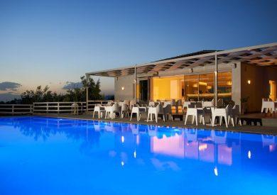 Grcka hoteli letovanje, Evia, Altamar, enterijer