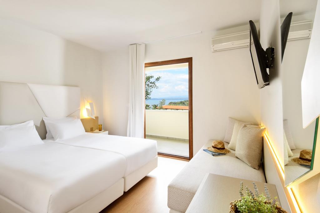 Grcka hoteli letovanje, Halkidiki, Uranopols,Akrathos, soba u hotelu