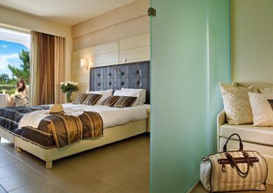 Grcka hoteli letovanje, Tasos, Tripiti, Hotel Blue Dreams Palace,  soba