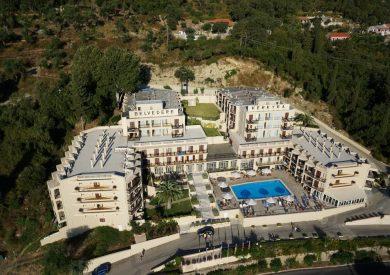 Grcka hoteli letovanje, Krf, Agios Ioannis Peristeron, Hotel Belvedere, panorama