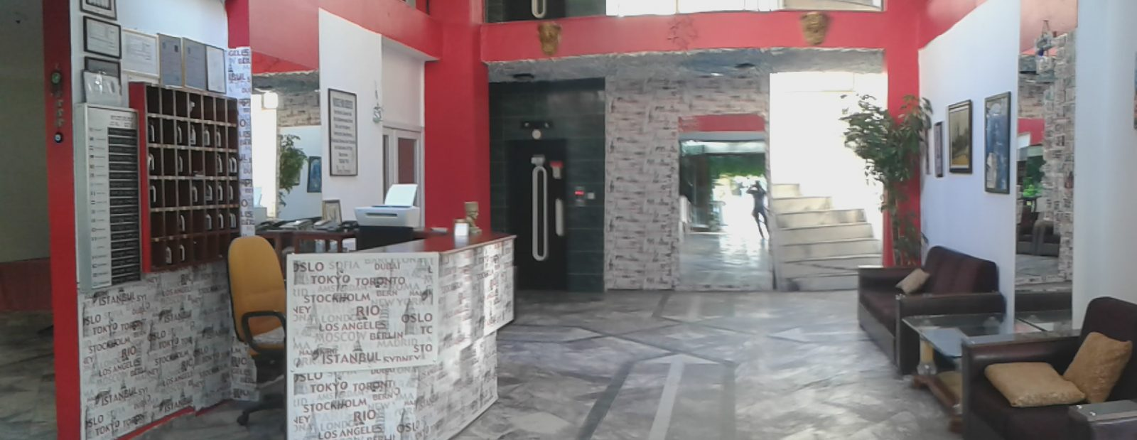 Letovanje Turska autobusom, Kusadasi, Hotel Tecimen,recepcija