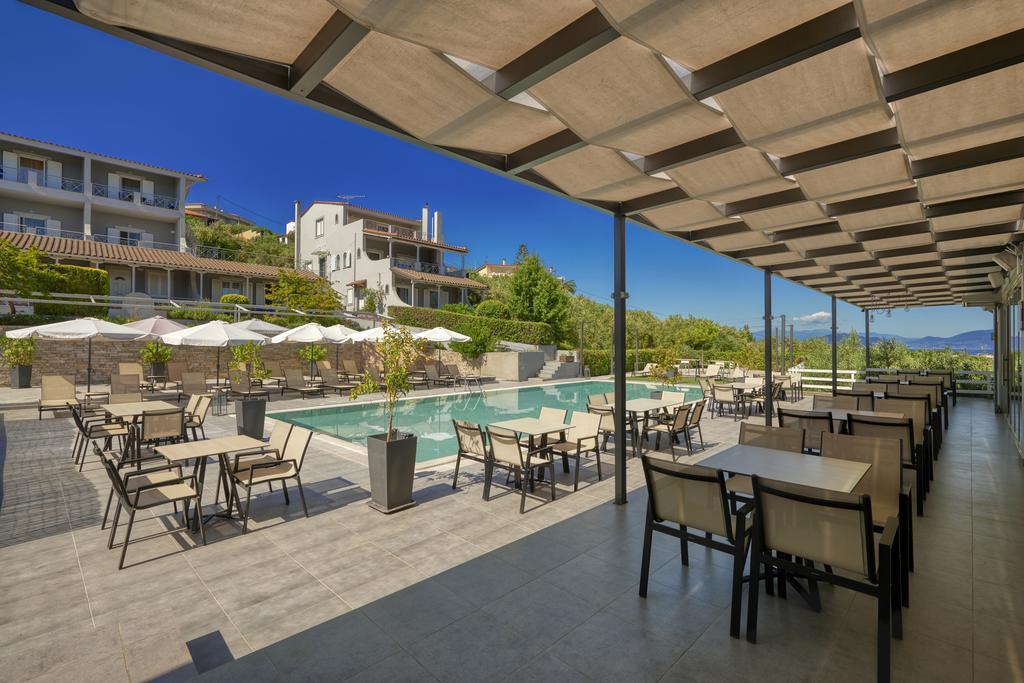 Grcka hoteli letovanje, Evia, Altamar, bar kod bazena