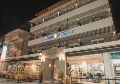 Grcka hoteli letovanje, Olympic beach, Ammos Beach studios&suites, eksterijer