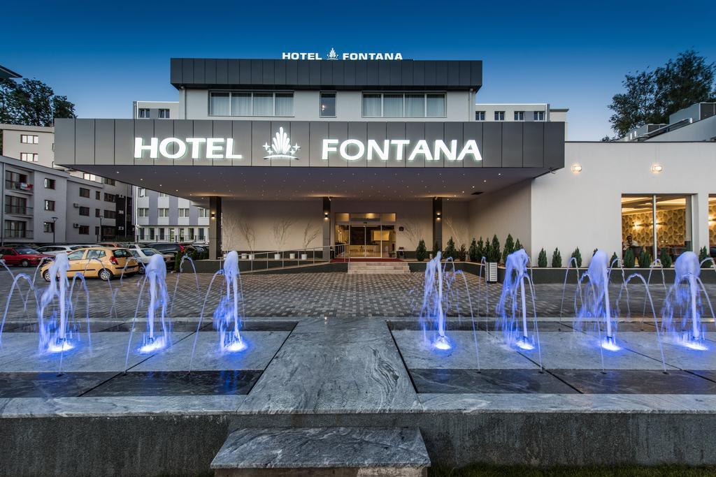 Banje,Vrnjačka Banja, smeštaj, Hotel Fontana, ulaz