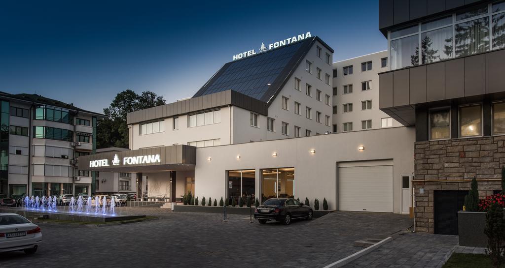 Banje,Vrnjačka Banja, smeštaj, Hotel Fontana, eksterijer