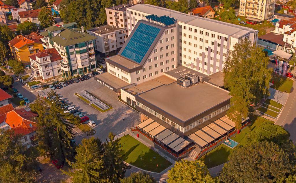 Banje,Vrnjačka Banja, smeštaj, Hotel Fontana, panorama
