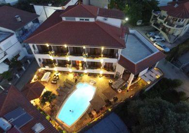 Grcka hoteli letovanje, Tasos, Limenas, Hotel Pavlidis, eksterijer