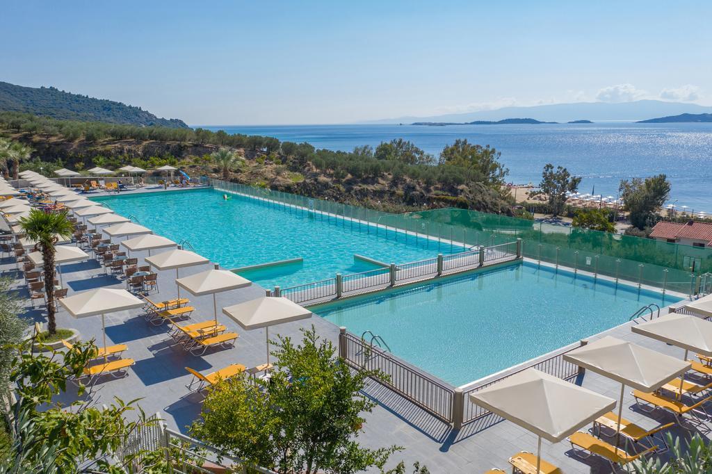 Grcka hoteli letovanje, Halkidiki, Uranopols,Akrathos, spolja