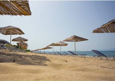 Grcka hoteli letovanje, Kanali, Hotel Poseidon Beach, plaža