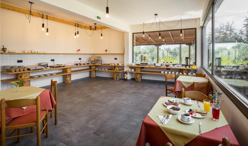 Grcka hoteli letovanje, Tasos, Skala Rahoni, Hotel Filippos, izgled restorana