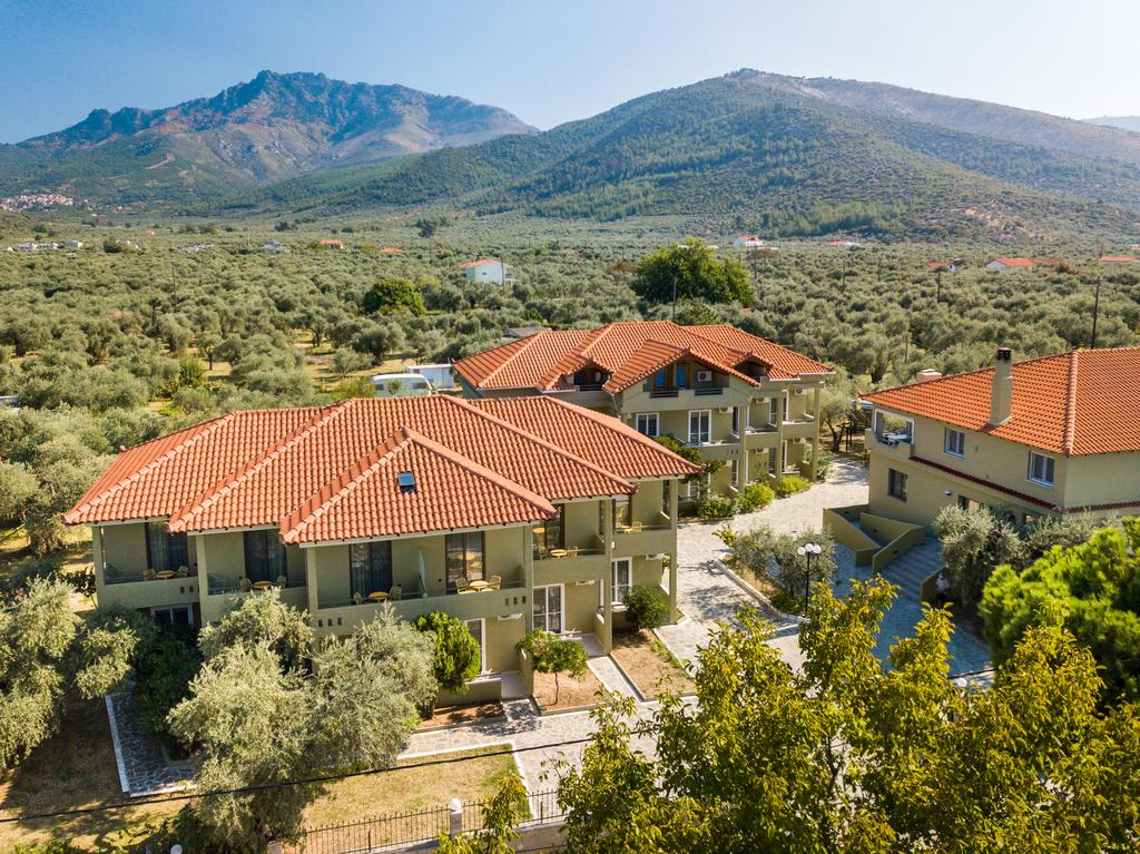 Grcka hoteli letovanje, Tasos, Skala Rahoni, Hotel Filippos, izgled hotela