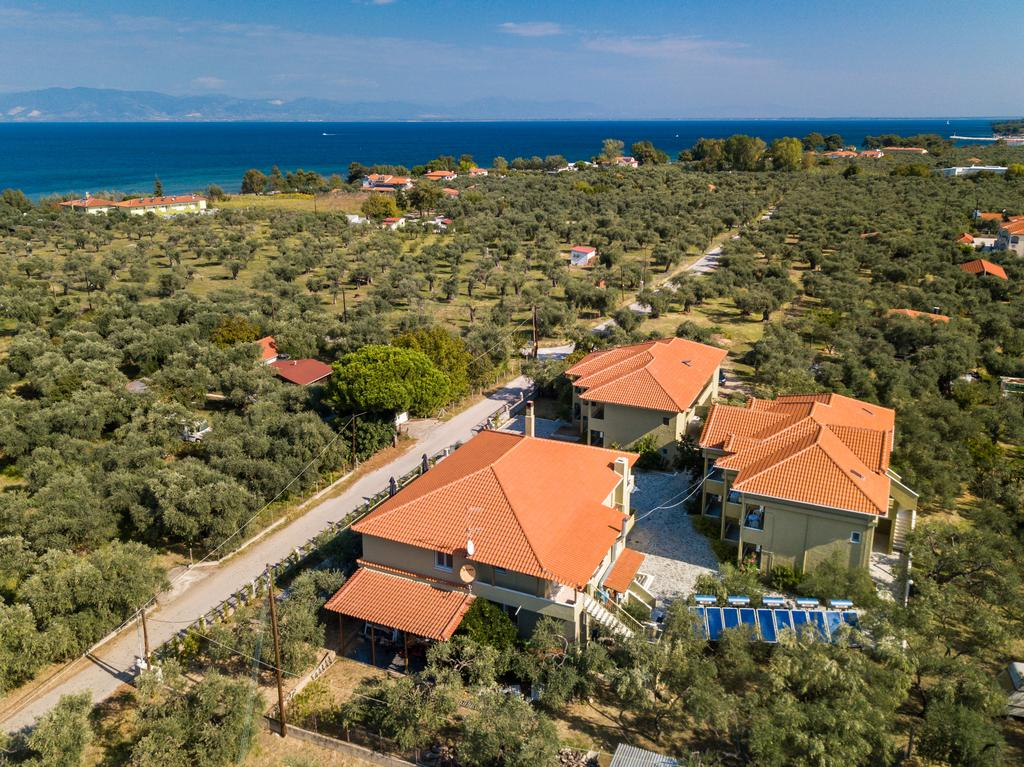 Grcka hoteli letovanje, Tasos, Skala Rahoni, Hotel Filippos, panorama