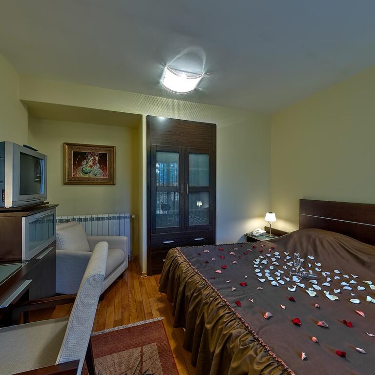 Zlatibor, zimovanje, smeštaj, Garni hotel President, izgled spavace sobe