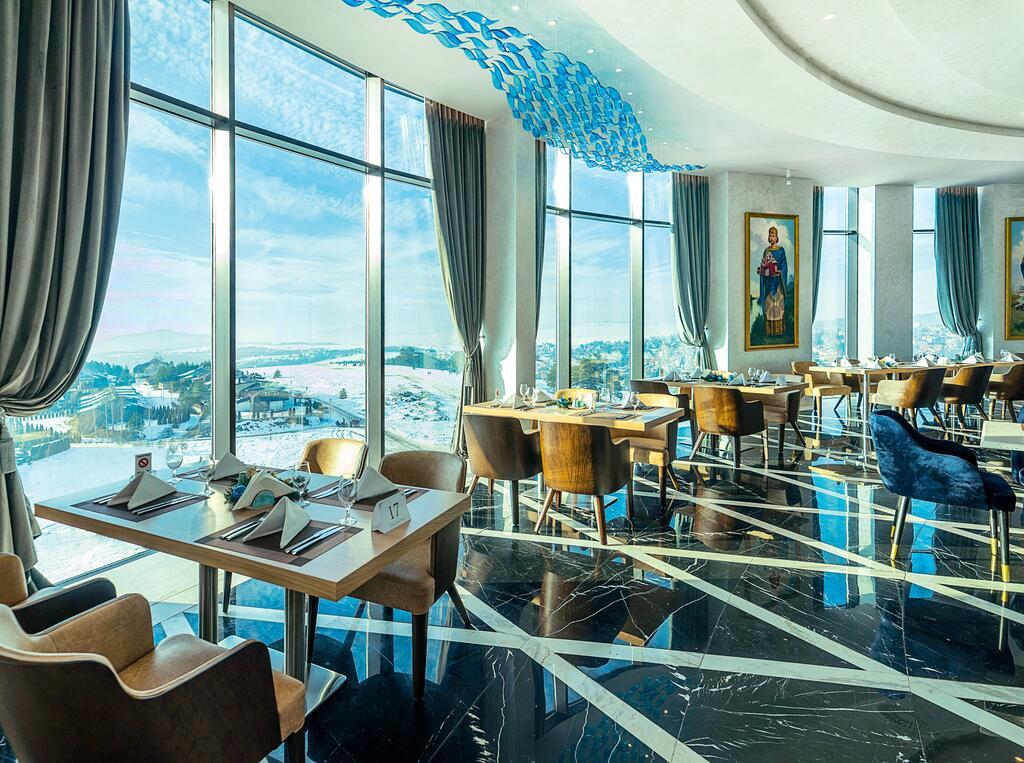 Zlatibor, zimovanje, smeštaj, Grand hotel Tornik, izgled restorana