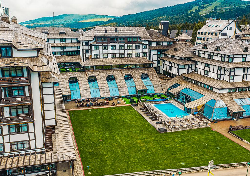 Kopaonik, zimovanje, smeštaj, Grand hotel & spa, spoljašnji izgled