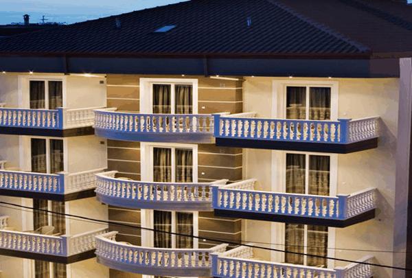 Grcka hoteli letovanje, Paralia, RG Status, eksterijer