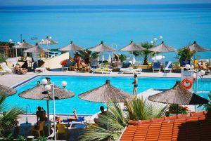 Grcka hoteli letovanje, Halkidiki, Hanioti,Sousouras&Bungalows,bazen