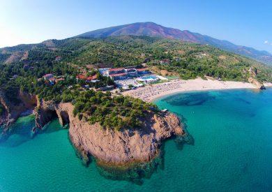 Grcka hoteli letovanje, Tasos, Tripiti, Hotel Blue Dreams Palace, plaža