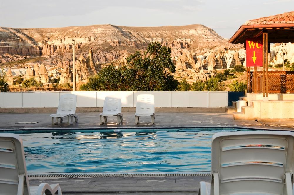 Putovanje Velika Turska tura, evropski gradovi, Kapadokija – Ankara - Pamukkale, Ciner Kapadokija, dvorište