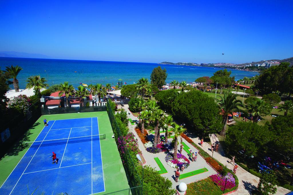 Letovanje Turska autobusom, Kusadasi, Hotel Batihan Beach resort&Spa,teniski tereni