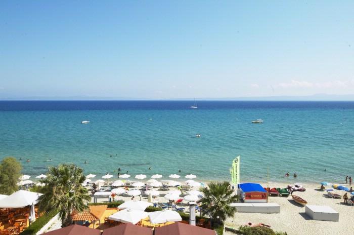 Grcka hoteli letovanje, Halkidiki,  Hanioti Grand Hotel,plaža