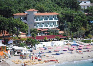 Grcka hoteli letovanje, Tasos, Akti, eksterijer
