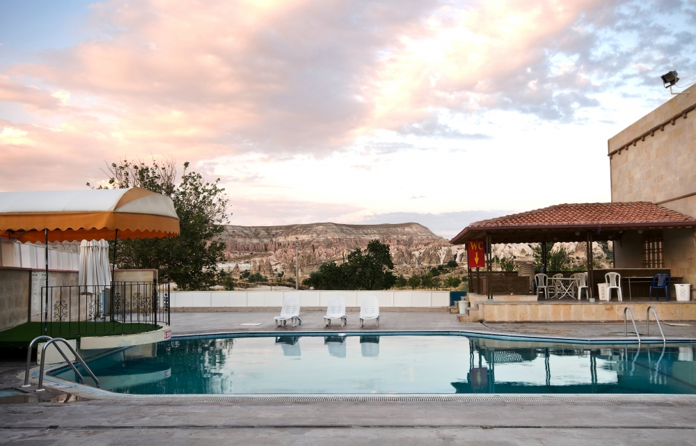 Putovanje Velika Turska tura, evropski gradovi, Kapadokija – Ankara - Pamukkale, Ciner Kapadokija, bazen