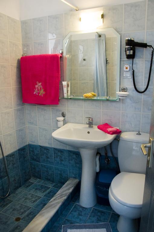 Grcka hoteli letovanje, Preveza, Hotel Dimitra, kupatilo