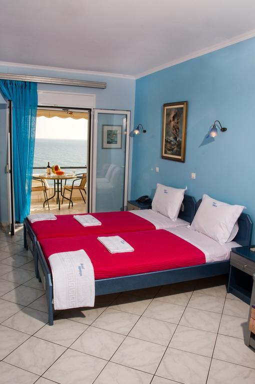 Grcka hoteli letovanje, Preveza, Hotel Dimitra, izgled sobe