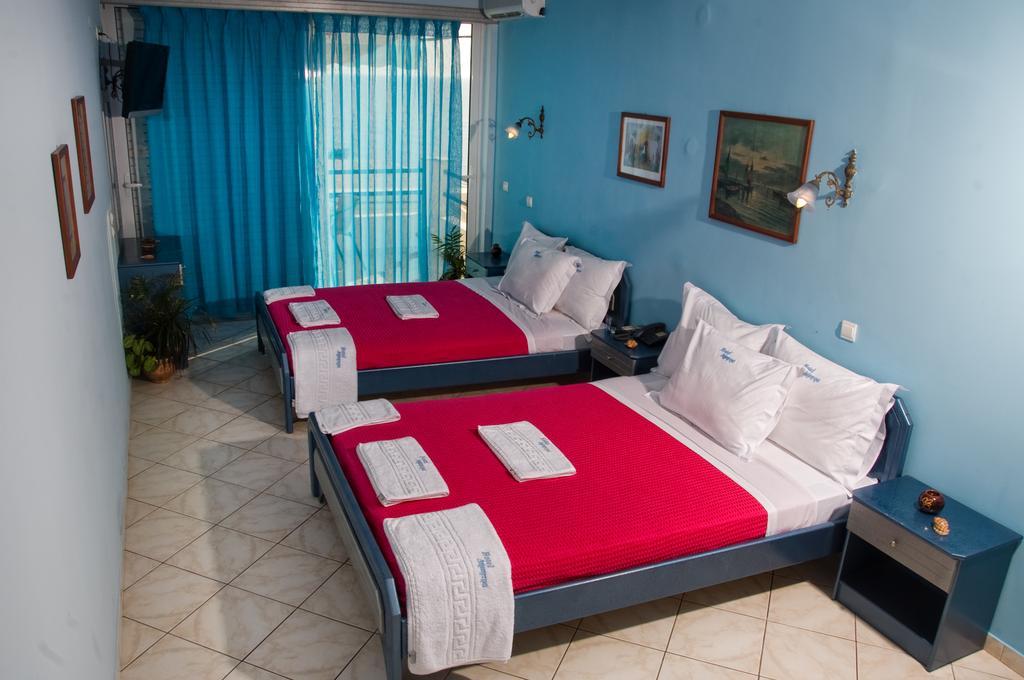 Grcka hoteli letovanje, Preveza, Hotel Dimitra, soba u hotelu