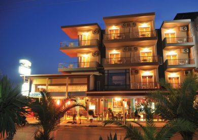 Grcka hoteli letovanje, Paralia, Porto Del Sol, eksterijer